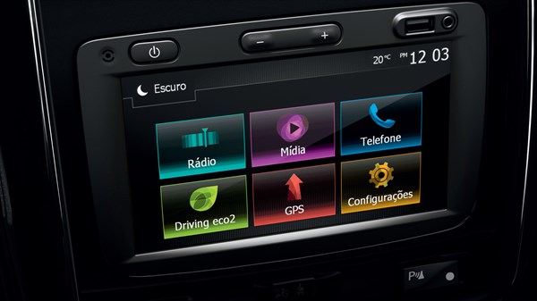 Renault Duster Oroch - Media Navigation